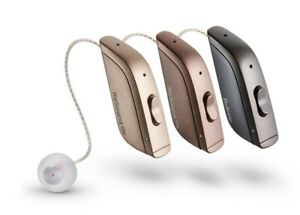 Resound One 9 RIC Rechargeable hearing aid X 2 (Pair) and standard charger