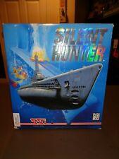 Vintage Silent Hunter PC Computer Game CD-Rom RARE Windows SSI W/ Box IBM SUB