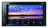 Pioneer AVH-A3200DAB Doppel-DIN CD/DVD/MP3-Autoradio Touchscreen DAB Bluetooth U