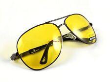 Polarized UV400 Sunglasses Night Vision Driving Goggle Glasses Yellow lens S2