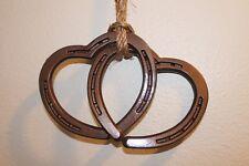 horseshoe hearts connected