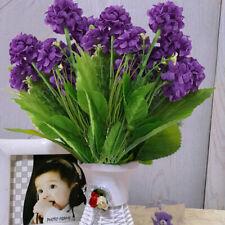 50 Heads Artificial Silk Lilies Fake Flowers Bridal Bouquet Wedding Home Decor