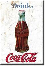 USA Coca Cola Kühlschrank Magnet Vintage Style Flasche Magnetschild