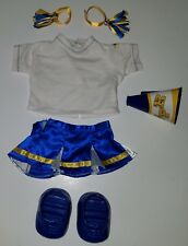 Cabbage Patch Kid Blue White Yellow Cheerleader Shoes Outfit Lot Doll Clothes