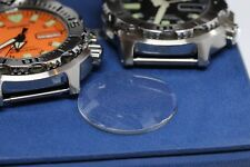 Mineral Glass Crystal For Seiko  Black Orange Monster 1st. SKX779,  SKX781, 7S26