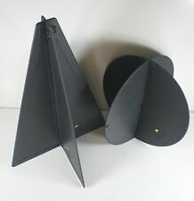 Black Plastic Anchor Ball And Cone Set - Boat Sailing - BS10