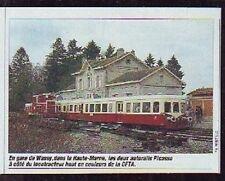 1991  --  AUTORAILS PICASSO EN GARE DE WASSY  Q572