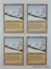 Mtg Taiga x4 Revised 3rd Edition Dual Lands Vintage Magic the Gathering EX/NM