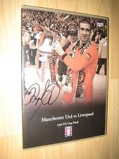 Ryan Giggs Signed Manchester United vs Liverpool 1996 FA CUP FINAL DVD