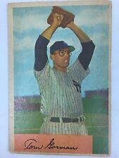 1954 Bowman # 17 Tom Gorman New York Yankees