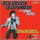James Brown : Tell Me What Youre Gonna Do + Shout and CD***NEW***