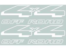 1998-2007 Aftermarket Ranger 4WD 4x4 Off Road Decals Stickers - Vinylmark WHITE