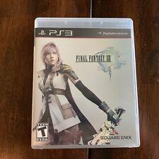 Final Fantasy XIII 13 (Sony PlayStation 3, 2010) PS3 Complete CIB Square Enix