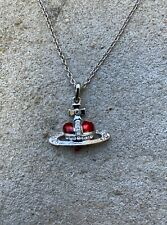 Vivienne Westwood Heart Orb Necklace Chain Red