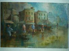 Malerei auf Leinwand im Impressionismus-Stil