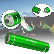 Handhold CREE Q5 LED AA Flashlight Torch 1200Lumens Aluminum Portable Green #M