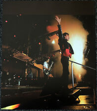 THE ROLLING STONES POSTER PAGE 2002 BOSTON MICK JAGGER & KEITH RICHARDS . Y100