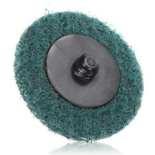 "2"" Fine Grit Stripping Sanding Discs Wheels And Mandrel Roll Lock Roloc™ Style"
