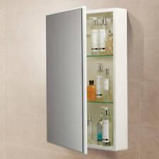 HIB Tulsa 500(w)x700(h)x105(d) High Gloss White Mirror Bathroom Cabinet 9101600