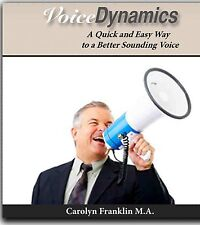 Book, Voice Dynamics - Easy Way to Learn to Speak Effectively! Carolyn Franklin