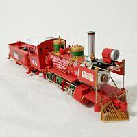 Hawthorne Village Bachmann Rudolph Red-Nosed Reindeer Train Locomotive w/Tender