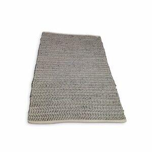 Jute Padel Rug 120cm x 180cm - Charcoal