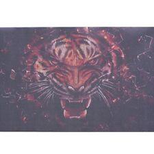 1Pcs 3D Transparent Auto Car Back Rear Window Decal Vinyl Sticker Terror Tigers