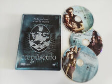 CREPUSCULO - SAGA CREPUSCULO TWILIGHT - 3 X DVD STEELBOOK ESPAÑOL ENGLISH