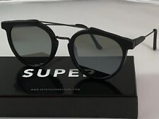 Retrosuperfuture Giaguaro Black Matte Zero Frame Sunglasses SUPER CN2 53mm NIB