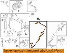 Infiniti NISSAN OEM A/C Condenser, Compressor Line-AC Pressure Line 924401MA0D