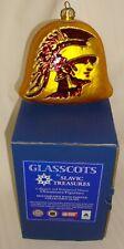 Slavic Treasures Glasscots Usc Trojans Figure Ornament