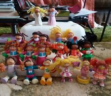 Cabbage Patch Kids Pvc Figures Lot Of 19 Vintage 1980's 1990's