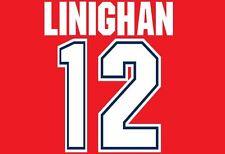 Linighan #12 Arsenal Camisa de fútbol local para hogar 1995-1996