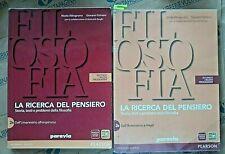 LA RICERCA DEL PENSIERO VOL.2A + 2B (IN 3 VV) - N.ABBAGNANO G.FORNERO - PARAVIA
