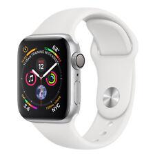 Apple Watch Series 4 44 mm Silver Aluminum Case White Sport Band (GPS) MU6A2LL/A