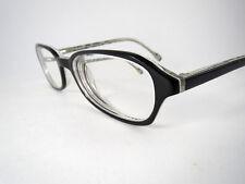 ESSENCE eyeglasses frames E S2 40 Zebra Striped 52-18 145mm Black White S