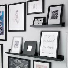 IKEA MOSSLANDA ~ Black Picture Ledge/ Shelf ~ 55 cm Length ~ New & Unopened