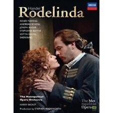 FLEMING/SCHOLL/BICKET/MOO - RODELINDA 2 DVD NEU OPER KLASSIK HÄNDEL