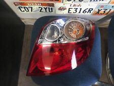 Passenger Right Tail Light Canada Market Fits 09-14 Matrix 419809