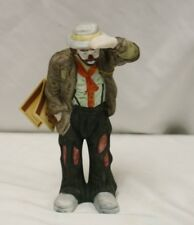 "Emmett Kelly Jr. Clown Collectible Figurine ""Looking Out To See"""
