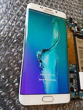 New Samsung Galaxy S6 Edge Plus G928F G928 LCD Frame White Digitizer - Light SBI