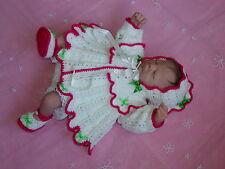 Baby reborn Doll Crochet Pattern **Gabiella** DK Wool