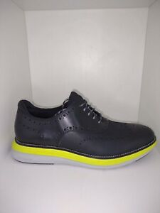 Cole Haan Shoes Originalgrand 360 Wing Ox Oxford Leather Black Volt Size 10.5