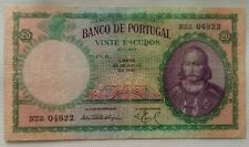 More details for portugal banknote: 20 escudos, 1951
