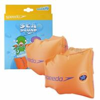 Speedo Kids Inflatable Safety Swimming Arm Bands Armbands Baby 1-12 Years