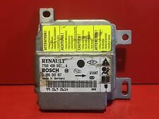 RENAULT CLIO 2 CALCULATEUR AIRBAG BOSCH REF 7700428310A 7700428310 A