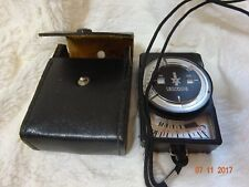 Leningrad 8 Vintage Russian Light Meter - Working with original leather case VGC
