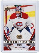 08-09 2008-09 UPPER DECK CAREY PRICE SOPHOMORE SENSATIONS SS3 CANADIENS
