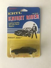 ERTL KNIGHT RIDER 1/64 SCALE DIE CAST METAL KNIGHT 2000 MOC 1982