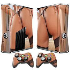 Schutzfolie Aufkleber Skin Designfolie Sticker Vynil Xbox 360 Slim -141-